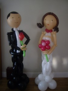 Bride and Groom Greeters