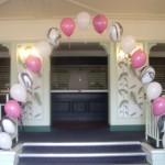 Balloon arch botanical gardens